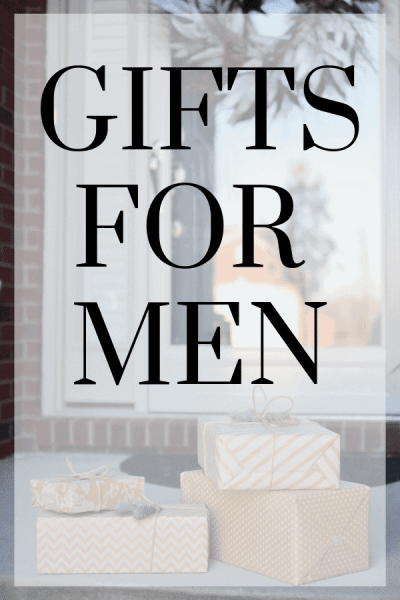 Gifts for Men Pinterest Image