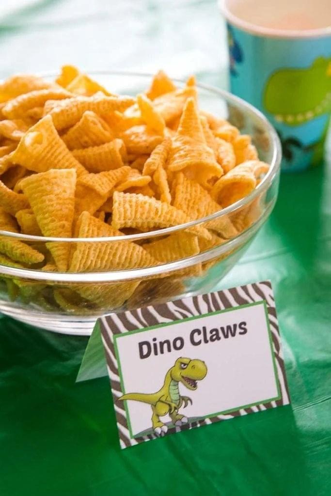 Easy Dinosaur Birthday Party Julie S Eats Treats