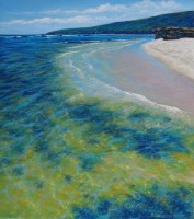 Julie Silvester - Shoreline Encounter - 105 x 96