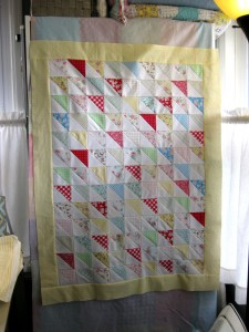 Border on, Ready to Quilt