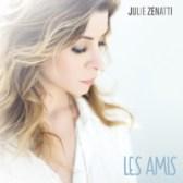 """Cover du single de Julie """"Les amis"""""""