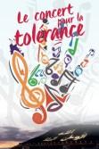Affiche du concert pour la Tolérance 2016