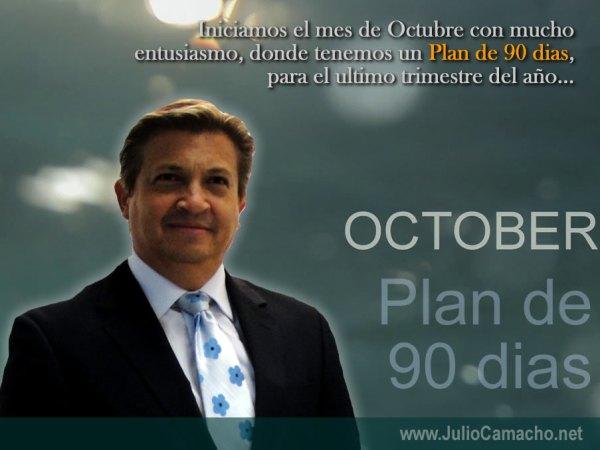 Plan de 90 dias - Julio Camacho