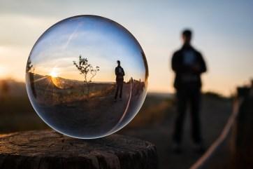 Bubble of positivity
