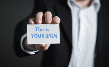 Your sign