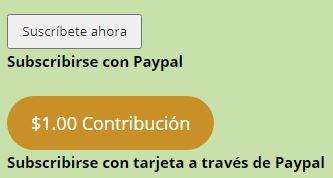 Subscripcion julio flores website