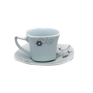 Cup with saucer - 1x1pc