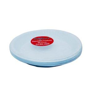 Safeer Plastic Plates - 25s