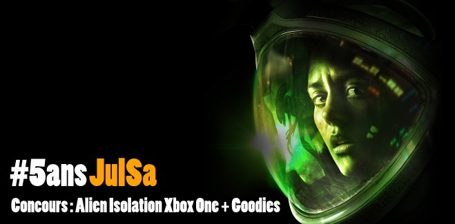 Concours : Gagnez 2 jeux Alien Isolation + goodies
