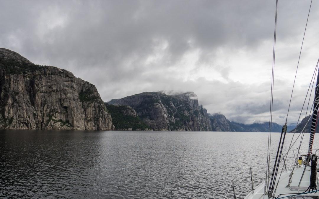 Sailing Lysefjorden and Climbing Flørli