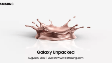 Photo of Samsung Galaxy Unpacked 2020 fissato per il 5 agosto. Sarà presentato il Note 20 e non solo