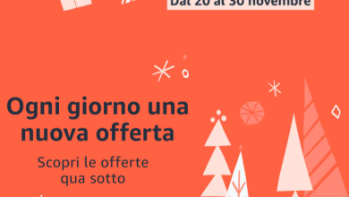 Photo of Settimana Black Friday su Amazon, le offerte dal 20 al 30 novembre