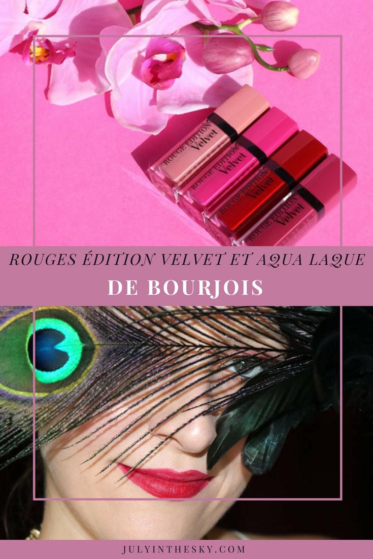 blog beauté haul bourjois rouge édition velvet aqua laque avis
