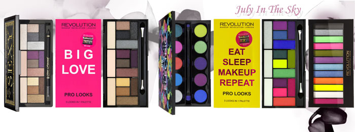 blog beauté Jeu de dupe : The Return Of Sexy - Too Faced - Pro Looks Palette - Big Love - Makeup Revolution - Palette Electric - Urban Decay - Pro Looks Palette - Eat Sleep Makeup Repeat - Makeup Revolution - Acid Brights - Makeup Revolution - Neon Nights - W7 Cosmetics