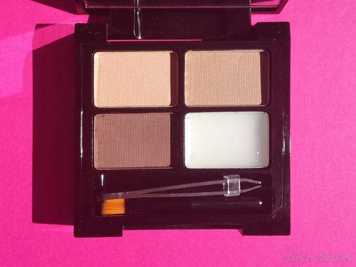 blog beauté haul makeup revolution kit focus and fix brown sourcils avis