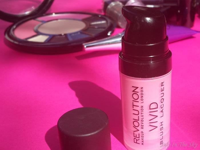 blog beauté haul makeup revolution vivid blush lacquer oboy avis