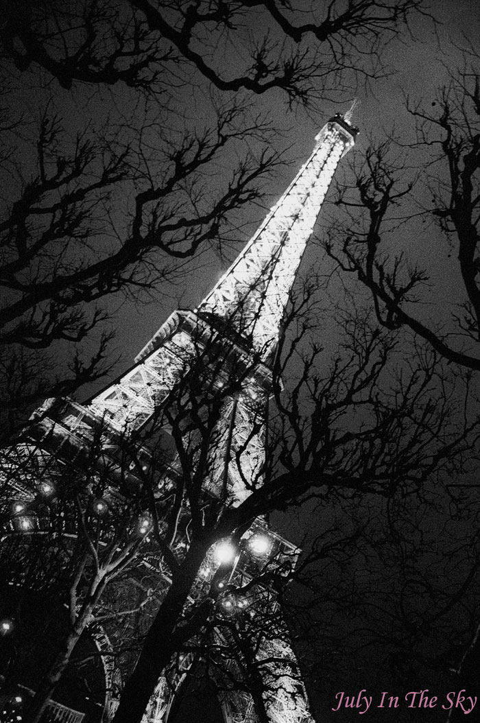 blog beauté photographie art passion paris by night tour eiffel nuit