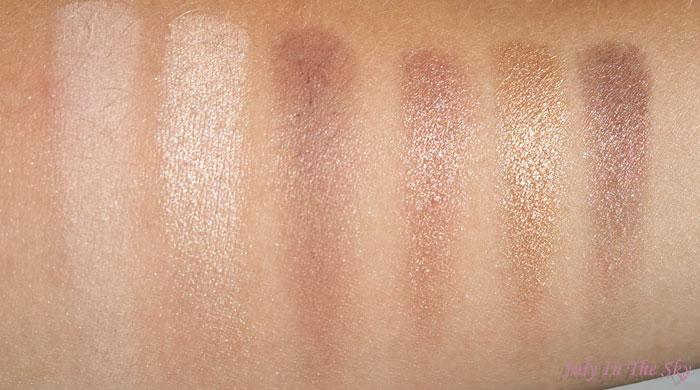blog beauté haul makeup revolution palette I am naked avis swatch