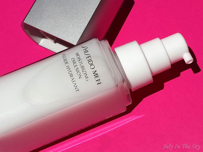 Mon homme a testé la Mousse Nettoyante et le Fluide Hydratant Shiseido Men ! Et moi aussi…