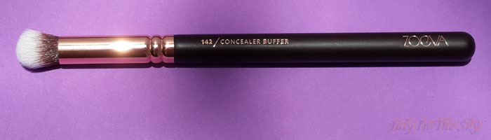 blog beauté avis pinceaux rose golden complete eye set zoeva the beautyst avis test 142 concealer buffer