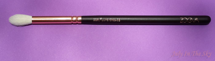 blog beauté avis pinceaux rose golden complete eye set zoeva the beautyst avis test 228 luxe crease