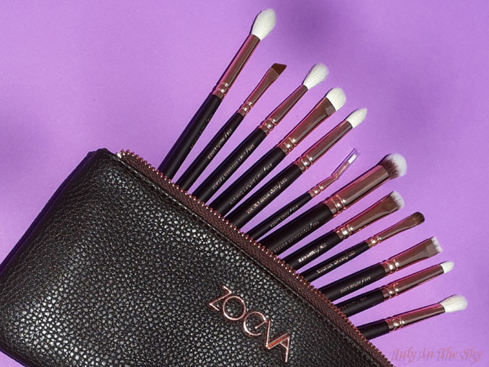 blog beauté avis pinceaux rose golden complete eye set zoeva the beautyst avis test