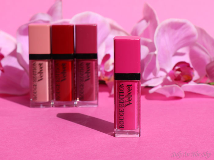 blog beauté rouge édition velvet bourjois pink pong test avis