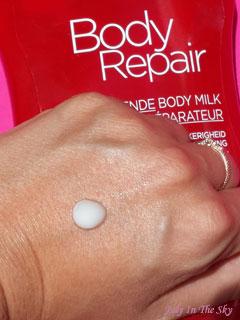 blog beauté routine corps lait crème réparateur bodyrepair garnier avis test