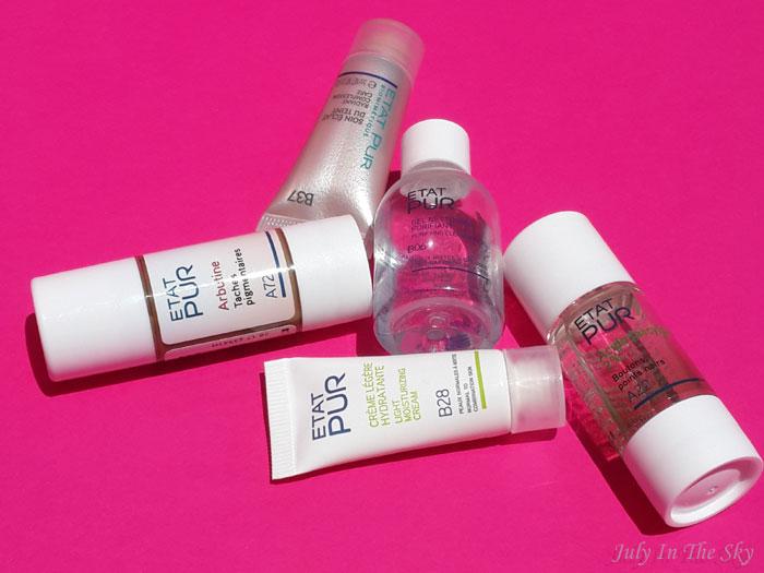 blog beauté routine actifs etat pur arbutine acide salicylique avis test