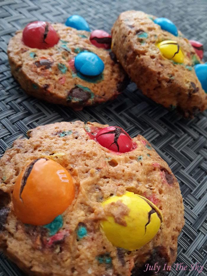 blog beauté food porn cookies m&m's