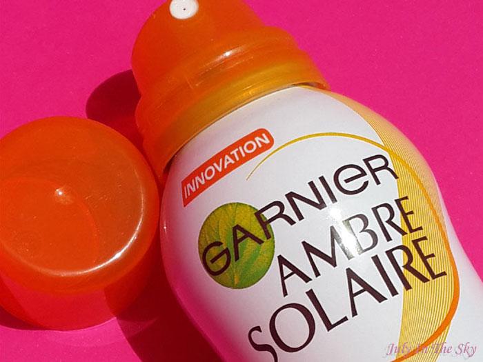 blog beauté avis brume toucher sec ambre solaire garnier