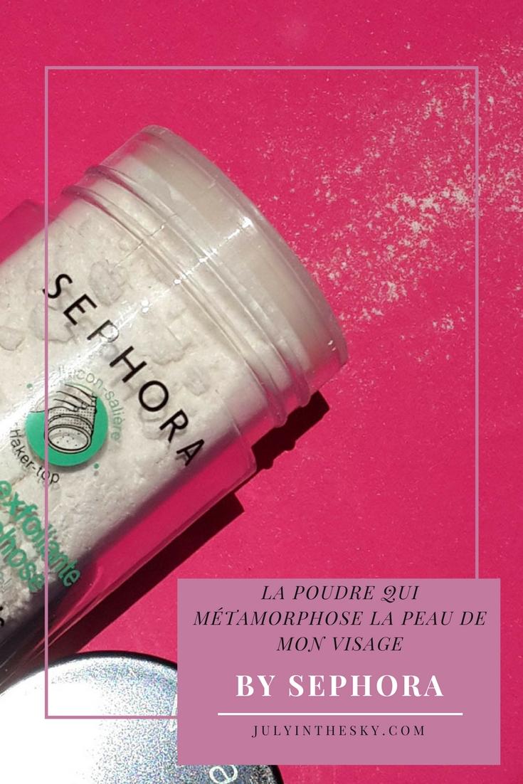 blog beauté avis poudre exfoliante métamorphose gommage sephora