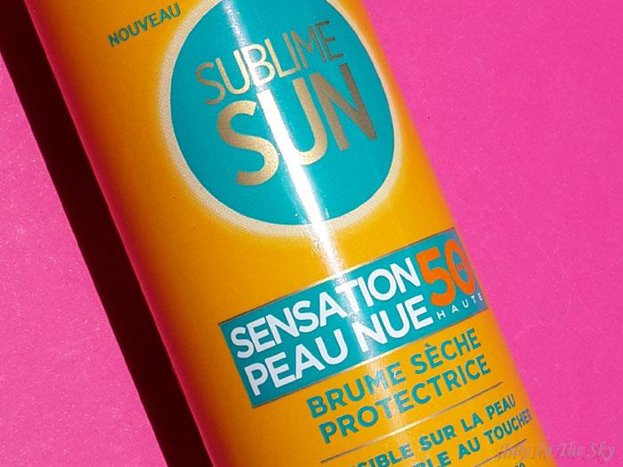 blog beauté avis test sublime sun brume sensation peau nue l'oréal