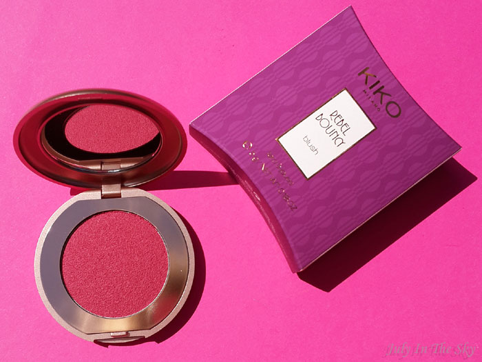 blog beauté kiko collection rebel romantic rebel bouncy blush avis test swatch