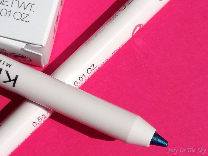 blog beauté make up of the day canicule lagon crystal eyeliner kiko