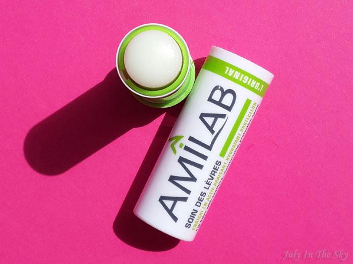 blog beaute baume à lèvres amilab test avis