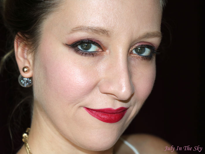 blog beauté cocoa blend zoeva make up of the day automne avis test