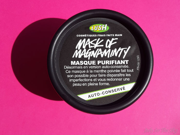 blog beauté test avis lush mask of magnaminty