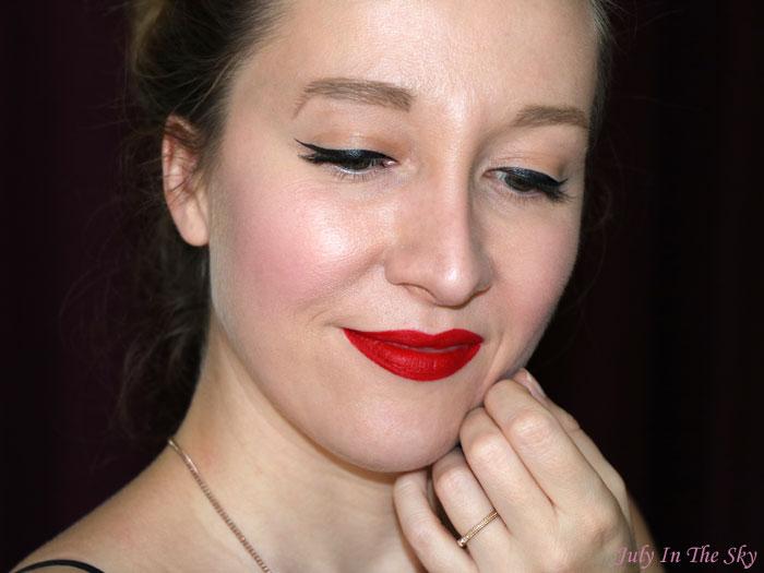blog beauté rouge velouté sans transfert sephora avis test swatch always red