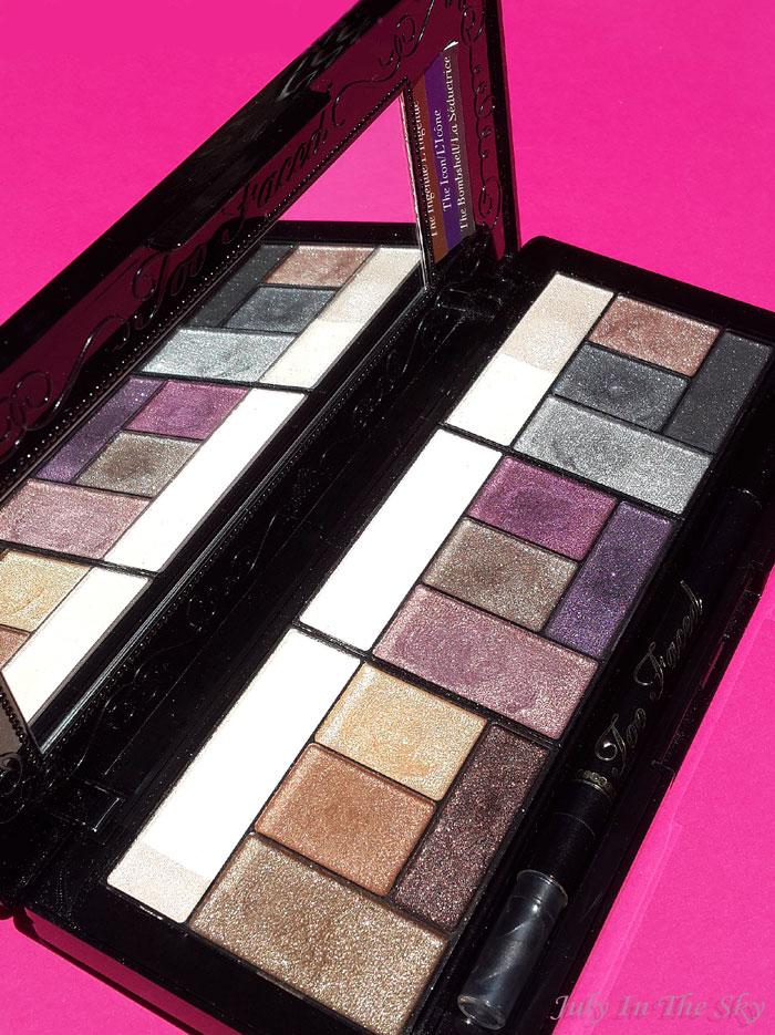 blog beauté palette the return of sexy de too faced avis test