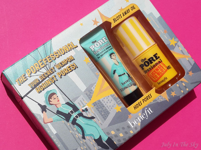 blog beauté box sephora beauty to go avis test valeur swatch the porefessional benefit