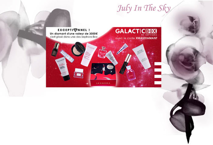 La Galactic Box de Sephora est arrivée