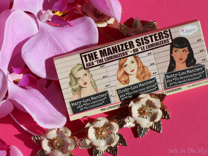 blog beauté make up lumineux naturel the balm the manizer sisters avis test