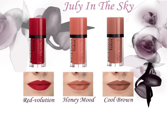 blog beauté rouge dition velvet bourjois red-volution cool brown honey mood avis test swatch
