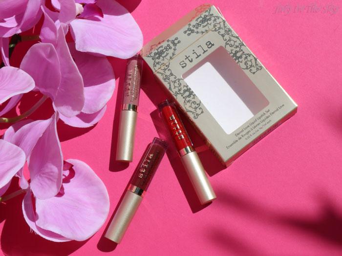 blog beauté eternal love kit stila stay all day lipstick avis test