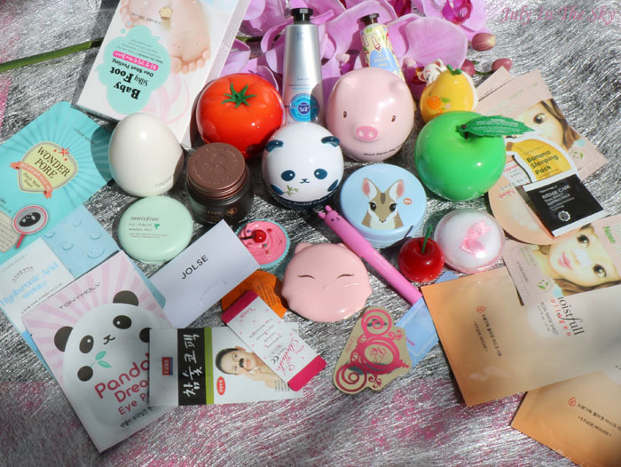 blog beauté haul jolse tony moly etude house holika holika the face shop innisfree