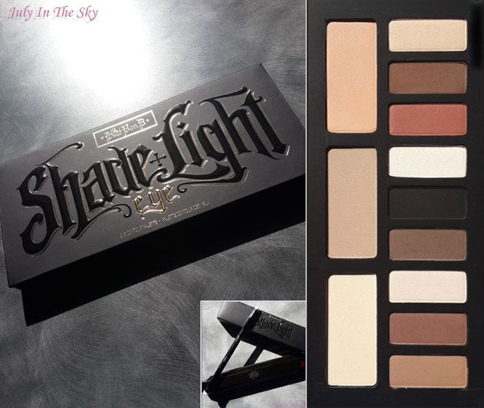 blog beauté kat von d france shade light eye contour palette swatch