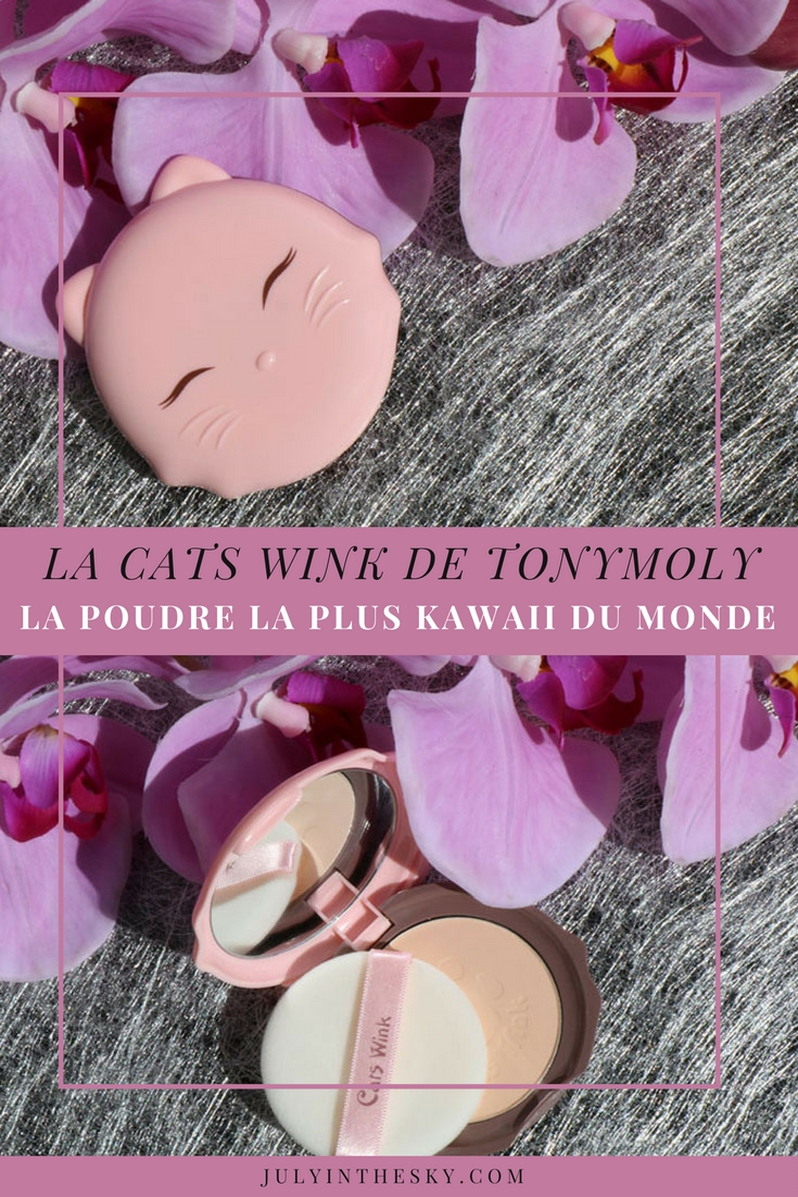 blog beauté tony moly mallilia sephora france poudre cats wink