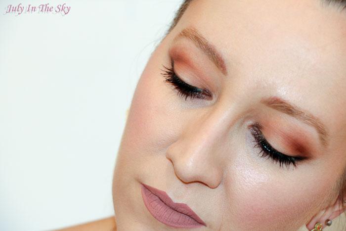 blog beauté dose of colors matte lipstick truffle swatch