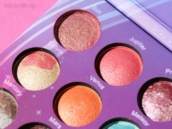blog beauté BH Cosmetics galaxy chic reparer un fard brisé